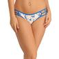 Cotton Mid Waisted Bikini - Blue