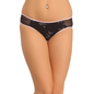Cotton Mid Waisted Hipster - Black