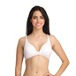 Cotton Non-Padded Non-Wired Demi Cup T-Shirt Bra - White