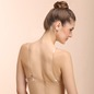 Cotton Bra with Transparent Straps & Back