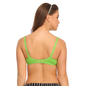 Cotton Non-Padded Wirefree Full Cup Bra - Green
