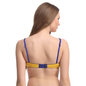 Cotton Non-Wired Non-Padded Everyday Bra In Yellow With Demi Cups