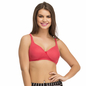 Cotton Non-Wired Non-Padded Plus Size Bra In Pink