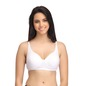 Cotton Non-Wired Non-Padded Plus Size Bra In White