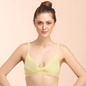 Cotton Soft Cup Bra In Yellow