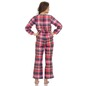 Cotts Wool Jumpsuit In Plaid
