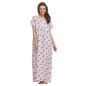 Floral Printed Soft Long Nighty