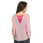 Full Sleeve Georgette Western Wear In Pink