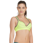 Push Up Bra In Green With Racerback