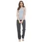 Cotton Round Neck Camisole & Pyjama - Blue