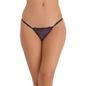 Spandex & Lacy Bikini In Black