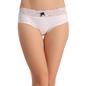 Mid Waist Bikini - White
