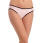Mid Waist Bikini With Powernet Side Wings - Pink