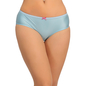 Mid Waist Hipster With Trimmed Elastic - Blue