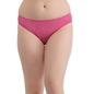 Mid Waist Printed Bikini - Pink