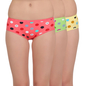 Multicoloured Panties Set Of 3