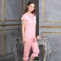Nightsuit In Baby Pink