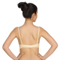 Cotton Non-Padded Wirefree Demi Cup T-shirt Bra - Skin