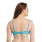 Non-Padded Wirefree Denim Look T-Shirt Bra - Blue