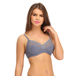 Non-Padded Wirefree Full Cup Bra - Grey