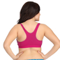 Padded Pink Sports Bra With Full Cups