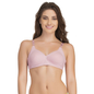 Padded Non-Wired T-Shirt Bra In Pink