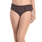 Cotton High Waist Panty - Brown