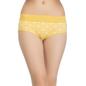 Cotton High Waist Panty - Yellow