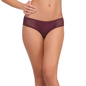 Dark Purple Bikini With Powernet At Sides