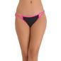 Cotton Spandex Bikini With Pink Waistband