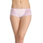 Mid-Waist Hipster with Trimmed Elastic & Lacy Side Wings - Purple