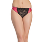 Polyamide & Lace Thong With Low Coverage