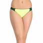 Polyamide Lacy Brief In Green