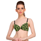Push-Up Bra In Flourescent Green With Detachable Straps