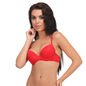 Push Up T-shirt Bra in Red