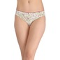 Printed Low-Waist Bikini with Satin Bow - Green
