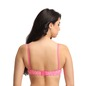 Push-up Non-Wired Balconette Bra - Pink