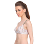 Polyamide Padded Bra With Detachable Straps In White