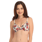 Push Up Demi Cup T-Shirt Bra With Detachable Straps - Beige