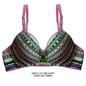 Push Up Demi Cup T-shirt Bra With Detachable Straps - Purple