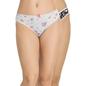 Set of 2 Cotton Low Waist Bikinis  - Pink & Grey