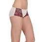 Set of 2 Mid Waist Bridal Hipster - Peach & Skin