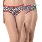Set of 3 Multi-coloured Cotton High Waist Panties