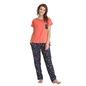 Set Of Printed Pyjama & T-Shirt - Blue