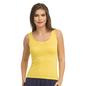 Round Neck Camisole - Yellow