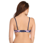 Push Up Bra in Navy with Back Detachable Straps