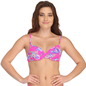 Push Up Bra in Pink with Back Detachable Straps