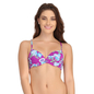 Push Up Bra in Purple with Back Detachable Straps