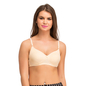 Cotton Non-Padded Wirefree T-shirt Bra With Moulded cups - Nude