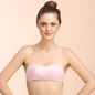 Tube Bra With Detachable Transparent Straps